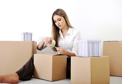 NEW 20 X Large Single Wall Cardboard House Move / Boxes - Removal Packing boxes