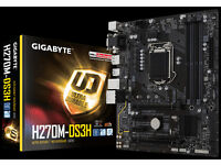 Gigabyte h270m-ds3h motherboard