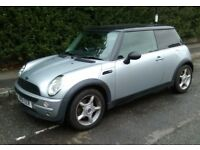 BMW MINI ONE (Drives Great) Long MOT & S/History, E/Windows, P/Steering, AirCon, Alloys, Alarm, CD..