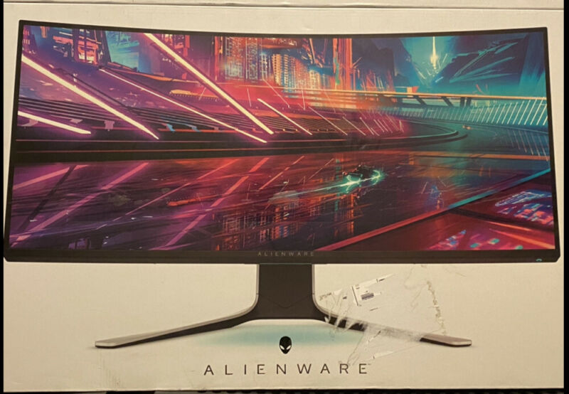 NEW Alienware AW3420DW 34-inch 120Hz Curved Ultrawide IPS Gaming Monitor