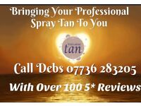 5* Mobile Spray Tanning With Over 125 5* Reviews. Wilde About Tan - Bingham