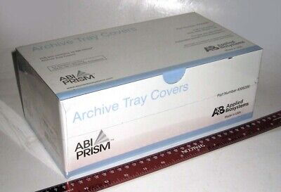 Manufacturer-sealed Applied Biosystems Abi Prism Pcr Archive Tray Covers Nos
