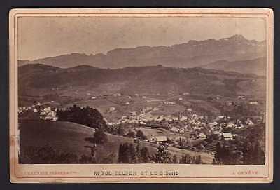 100923 Foto auf Hartpappe Teufen et le Sentis AR um 1890