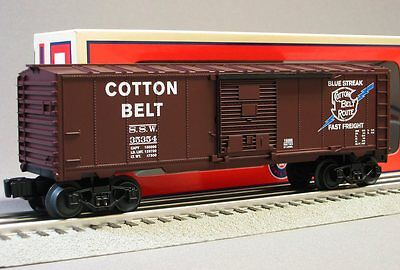 LIONEL SSW COTTON BELT BOXCAR 6-30167 southern pacific ogauge train 6-15066  on Rummage