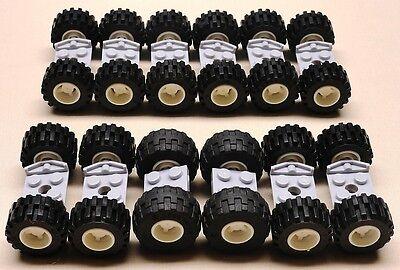 Lego Wheels Vehicle Parts Car Truck Tire & Rim Sets W/ Axles Lbs Pounds