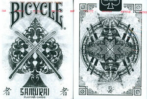 BICYCLE SAMURAI PLAYING CARDS