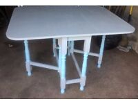 Shabby Chic Gateleg Dining Table
