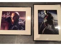 2 Signed Prints Friday 13th Jason Kane Hodder