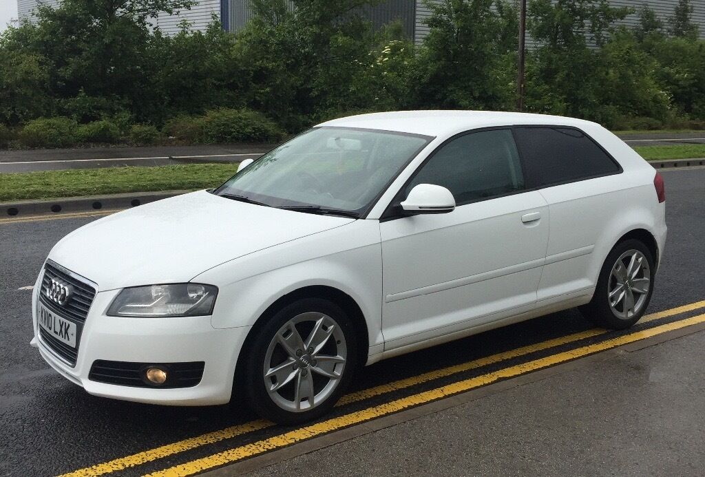 audi a3 2 0 tdi 140bhp 3 door white 2010 in rochdale. Black Bedroom Furniture Sets. Home Design Ideas