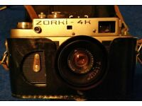 Zorki 4k Vintage Russian Rangefinder 35mm Camera