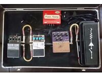 Guitar Effects pedal board complete,