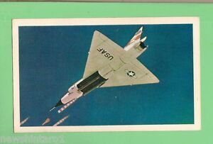 1964-SANITARIUM-AEROPLANE-CARD-35-CONVAIR-F-102-DELTA-DAGGER