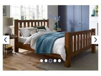 Brand New still in box - Wooden double bed