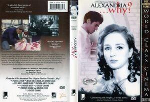 arabic dvd Alexandria.. Why? movie film in ENGLISH SUB