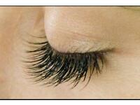 Semi Permanent Individual Mink Eyelash Extensions