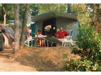 Trigano two bedroom frame tent