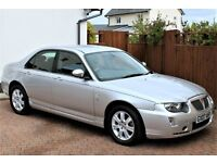 2007 (07) Rover 75 Connoisseur SE V6 Auto, Only 12673 Miles, Detailed History, Elderly Owner,