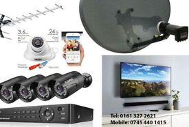CCTV, Satellite dish and TV Aerial Installation and Repairs.