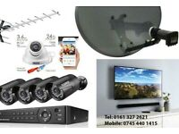 CCTV, Satellite dish and TV Aerial Installation and Repairs.