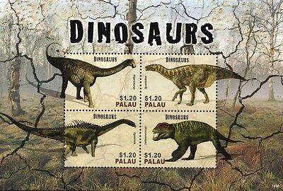 DINOSAURS Stamp Sheet #11 (Nigersaurus/Iguanodon/Agustinia/Doliosauriscus)