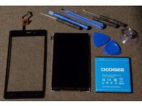 Doogee X5 PRO - battery, LCD panel, digitizer