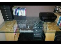 IKEA toughened glass desk