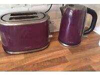 Next - microwave kettle & toast (purple)
