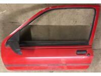Fiesta MK3 Doors good condition