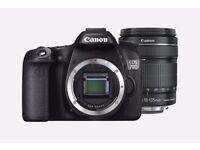 Digital SLR Camera for sale - Canon EOS 70D, 18-135mm STM Lens