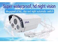 Brand New IP POE 2MP 2 MP CCTV Bullet Camera 3.6mm Sony CMOS Lens White Outdoor IR Day Night PAL
