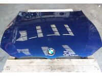2010 BMW E93 BONNET GENUINE LEMANS BLUE (SCUFFED) M SPORT #5263