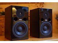 Fostex PM1 MK2 pair of active studio monitor speakers. Mint.