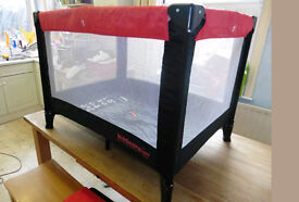 travel cot barly used amazing condition baby child