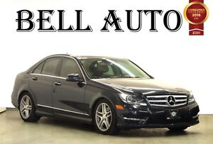 2012 Mercedes-Benz C-Class 3.5L PANORAMIC ROOF NAVIGATION 4MATIC