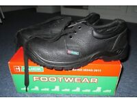 Safety Shoe with Steel Toe Cup
