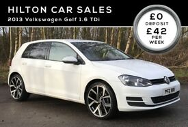 2013 VOLKSWAGEN GOLF 1.6 TDI BLUEMOTION***FINANCE AVAILABLE***FREE ROAD TAX (NOT AUDI MERCEDES)