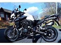 Triumph Explorer XCX 1200cc FSH Low mileage, excellent condition £1500 less than some dealers