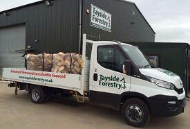 Bulk Bag Dry Seasoned Firewood Logs £60