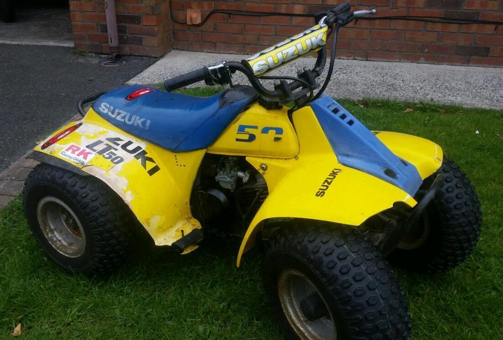 suzuki lt50 quad in banbridge county down gumtree. Black Bedroom Furniture Sets. Home Design Ideas