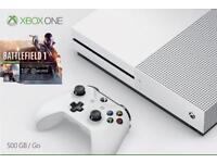 Xbox one s like new 2 weeks old