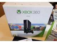 Xbox 360 E 4GB Boxed Console Bundle + games