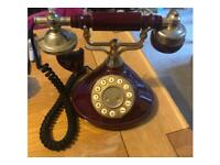 Repro Vintage style phone.