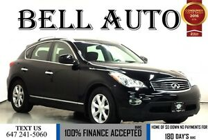 2011 Infiniti EX35 LUXURY PKG NAVIGTION SROUNDING CAMERA LEATHER