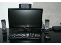 LG 23 Inch Widescreen, LCD Fully HD Monitor - £50