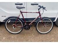 Gents Raleigh mountain bike 22'' frame 26'' wheels £65