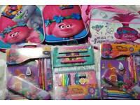 Trolls sets bag and pencil case sets