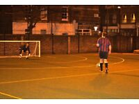 Spaces now available in Marylebone Monday 5-a-side league!