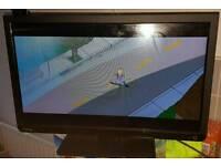 """24"""" Toshiba slim tv/dvd/freeview/hd"""