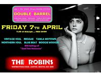 FRIDAY 7th APRIL - 60s 70s SOUL / REGGAE / MOTOWN / SKA with DOUBLE BARREL – ASHTON