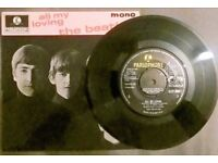 BEATLES -All my Loving 4 track EP 1963